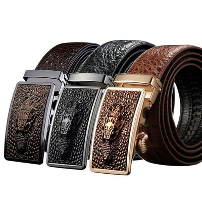 Ceinture Dragon en Croco - Dragonys