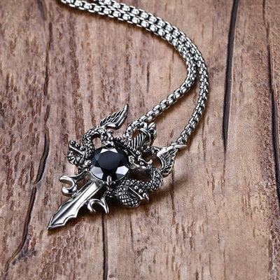 Collier Cœur de Dragon - Dragonys