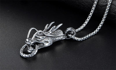 Collier Dragon Singapour Torsadée - Dragonys