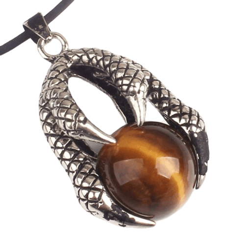 Collier Dragon griffe - Dragonys