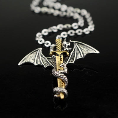 Collier Epée dragon | dragonsword - Dragonys
