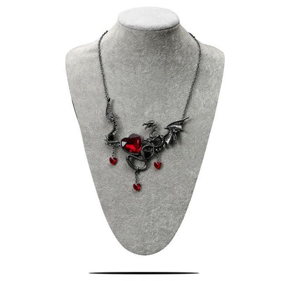 Collier Plastron Draconique - Dragonys