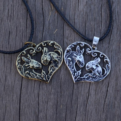 Collier dragon-cœur - Dragonys