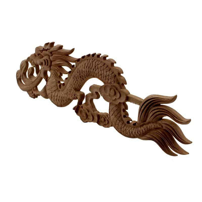 Décoration de Dragon en bois sculpté - Dragonys