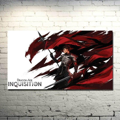 Dragon Age 3 Inquisition Hot Game Art Silk Poster Print 13x24 24x43 inches Wall Pictures For Living Room Decor 024 - Dragonys