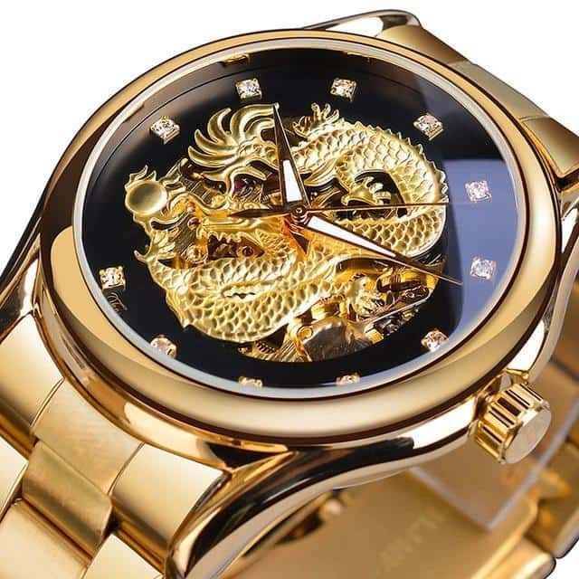 Montre Dragon Mains lumineuses - Dragonys