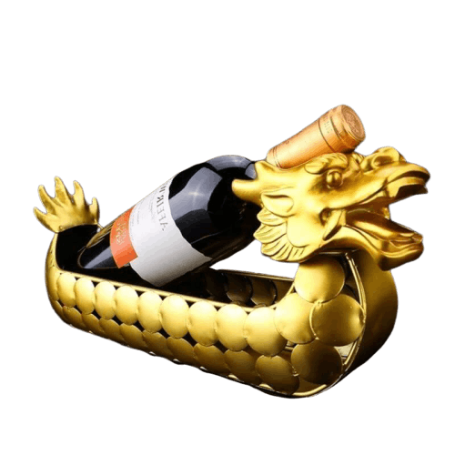 Porte Bouteille Dragon d'or - Dragonys