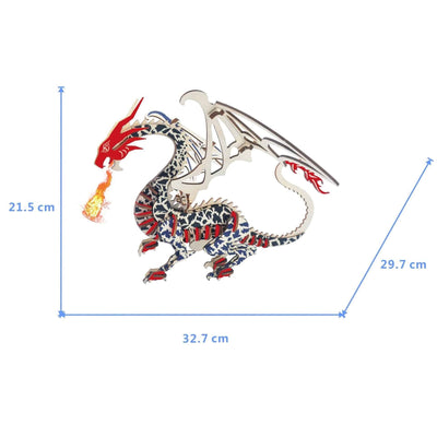 Puzzle Dragon Multicolore - Dragonys