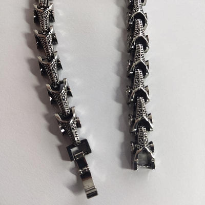 Bracelet écailles de Dragon style Hiphop/Rock - Dragonys