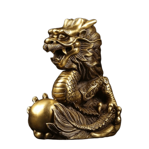 Statue Zodiac, Dragon Chinois Bronze - Dragonys