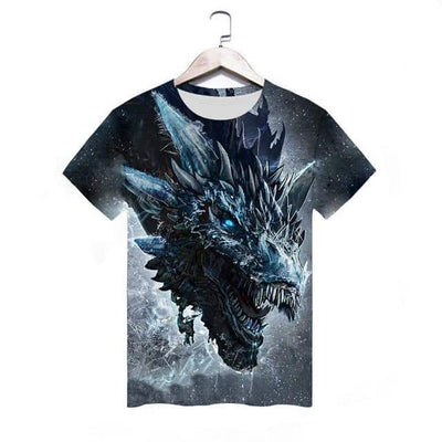 T-Shirt 3D Game Of Thrones Terrifiant - Dragonys