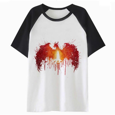 T-Shirt Dragon enflammé - Dragonys