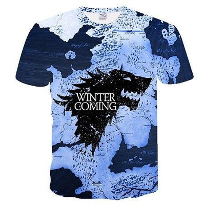 T-Shirt Game Of Thrones Moments forts - Dragonys