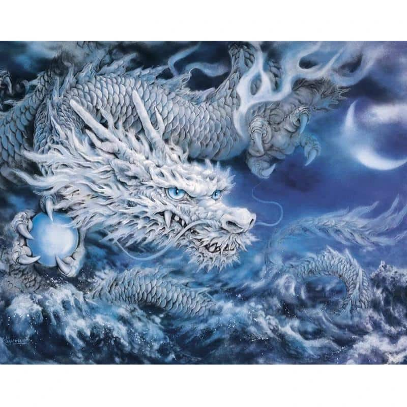 Tableau Dragon original - Dragonys