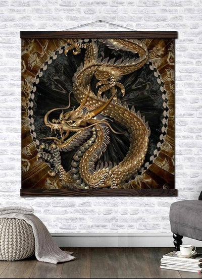 Tableau Dragon protection - Dragonys