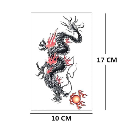 Tatouage Dragon Feu - Dragonys