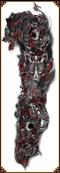 Tatouage Dragon Maori - Dragonys