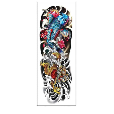 Tatouage Dragon Muflier Coloré - Dragonys