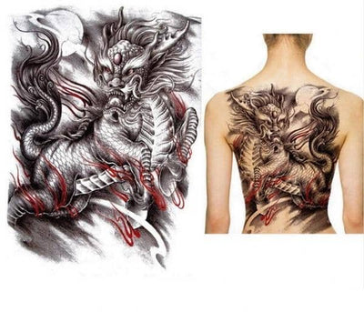 Tatouage Dragon Tigre - Dragonys