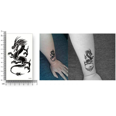 Tatouage Dragon Tribal Griffe - Dragonys