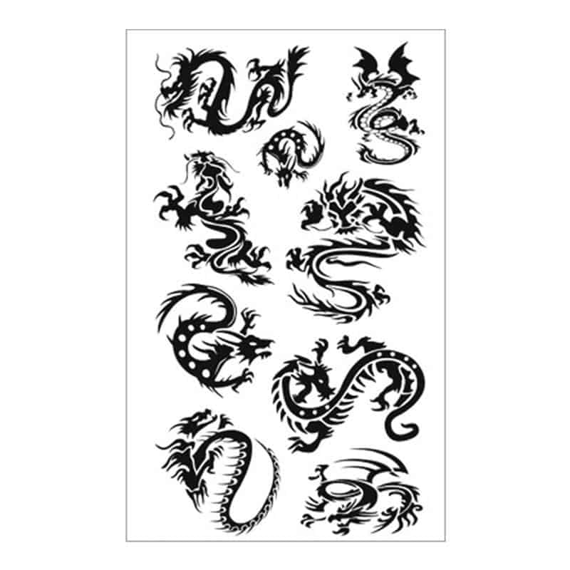 Tatouage Dragon papillon - Dragonys
