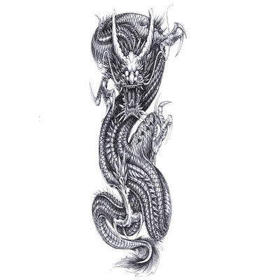 Tatouage Dragon terreur - Dragonys