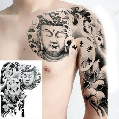 tatoos temporales for men shoulder tattoos dragon black large tattoo and body art sticker boys tattoo tribal designs mens decals - Dragonys