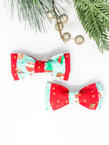 Double Dog Bow tie | Santa's Friends x Red Stars