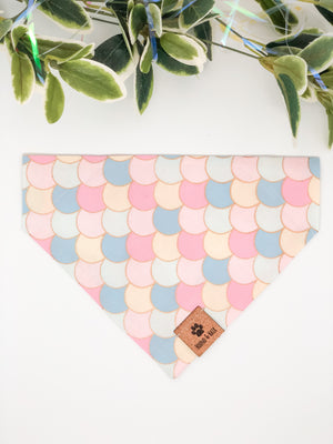 Reversible Over the Collar Bandana | Mermaid x Sparkles