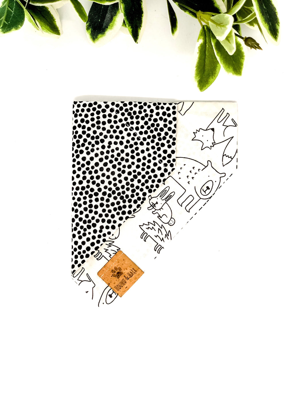 Reversible Over the Collar Bandana | Forest Friends x Spots