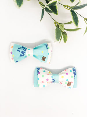 Double Dog Bow tie | It's My Barkday!