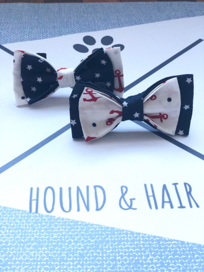 Double Dog Bow tie | Anchors x Stars