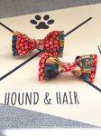 Double Dog Bow tie | Superheroes x Red Paws
