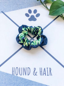 Scrunchie | Palm x Denim