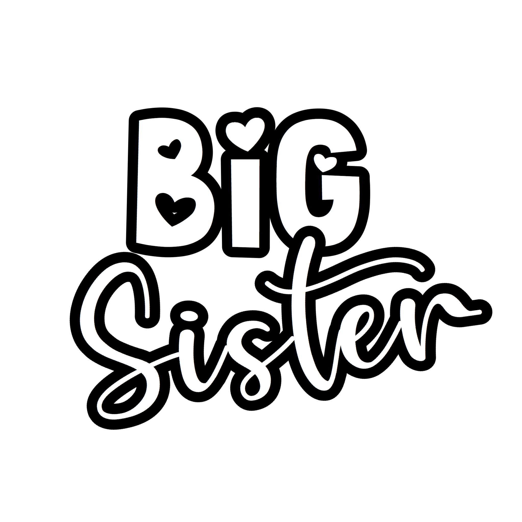 """Big Sister"" Text Add-On"