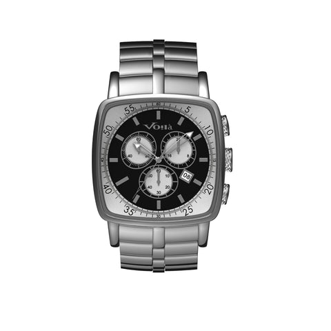 CHEVALIER (CHRONOGRAPH - STAINLESS STEEL BRACELET)