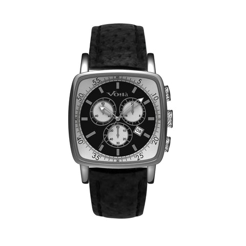 CHEVALIER (CHRONOGRAPH - LEATHER STRAP)