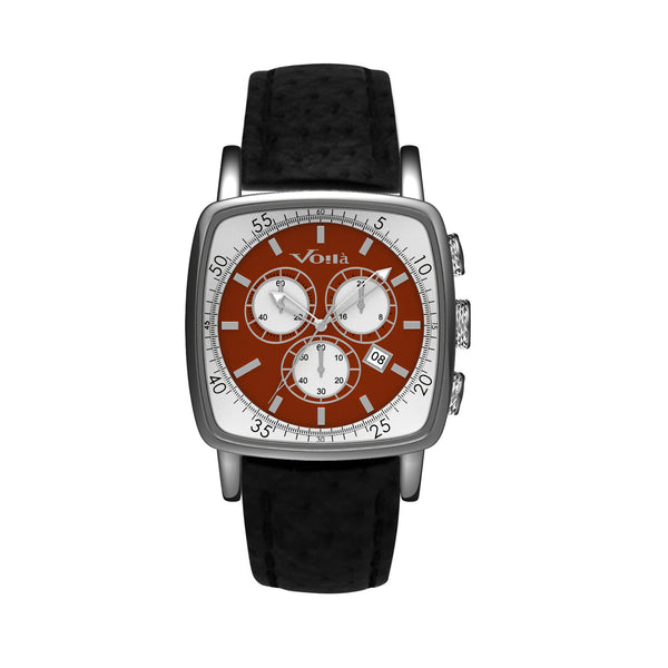Chevalier Chronograph Leather Strap