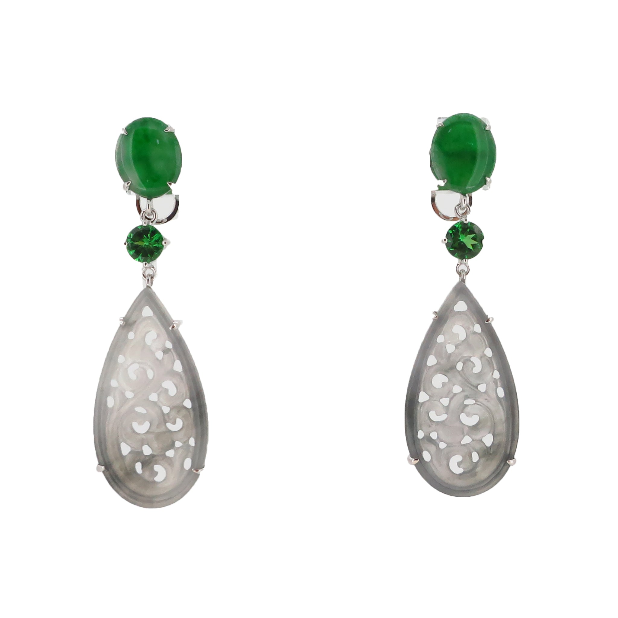 Jade Garden Earrings