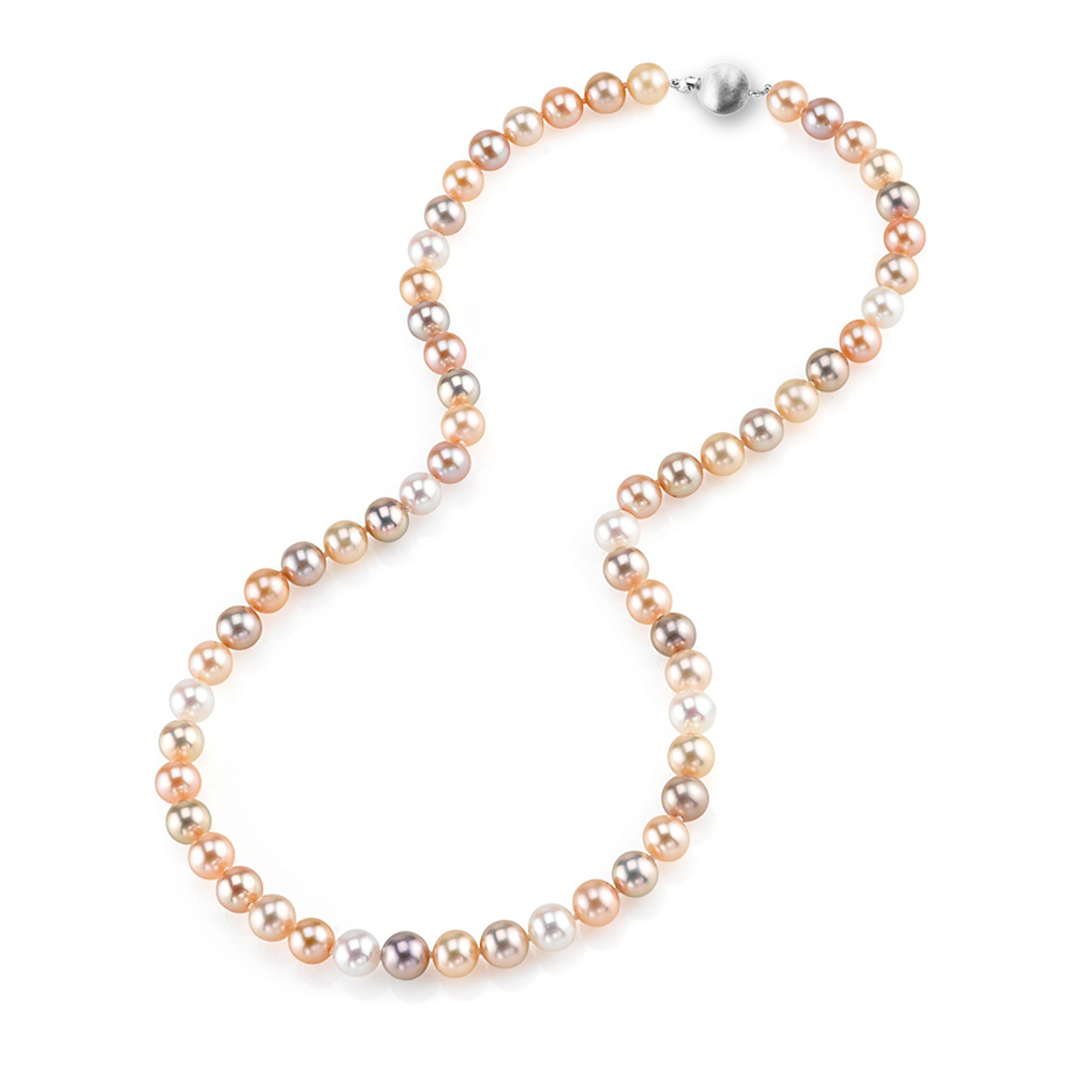 Multi-Colour Pearl Strand
