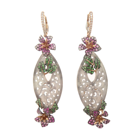Gardens by the Jade Earrings