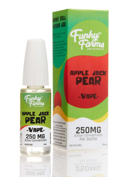 Funky Farms Apple Jack Pear E-liquid