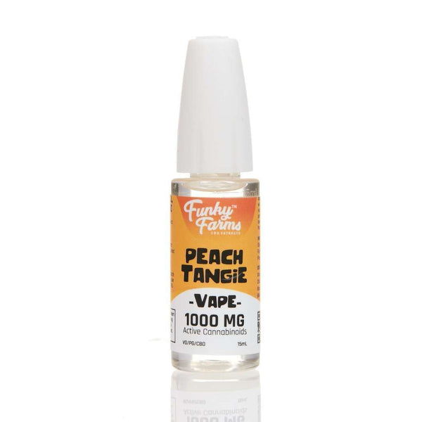 Funky Farms Peach Tangie E-liquid