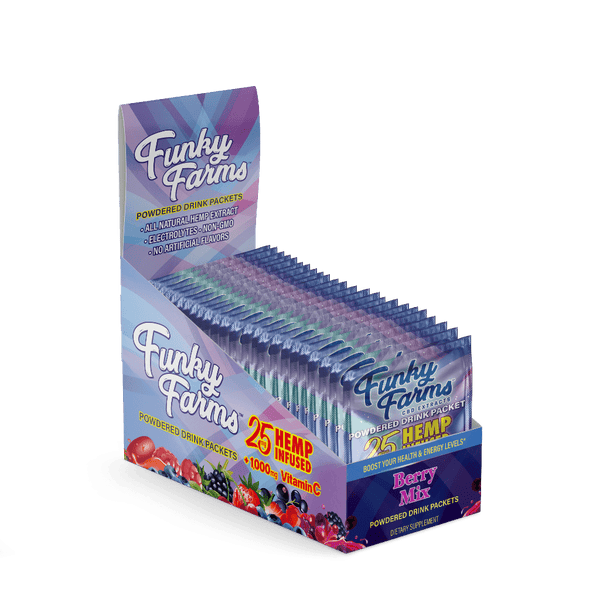 Funky Farms Drink Packet Berry 25mg - 24pk