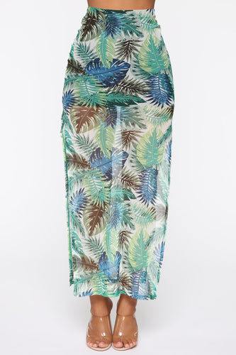 NOVA WEAR - Welcome To The Jungle Maxi Skirt