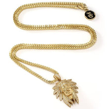 The 14K Gold Chief Rain Cloud Necklace