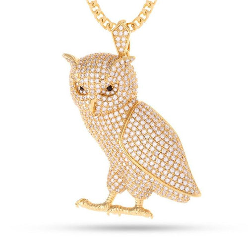 The 14K Gold Owl Necklace