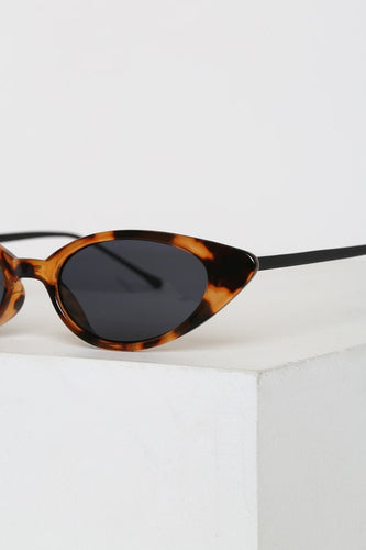 Cozette Tortoise Cat-Eye Sunglasses