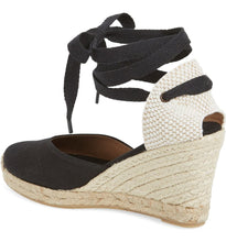 SOLUDOS - Wedge Lace-Up Espadrille Sandal