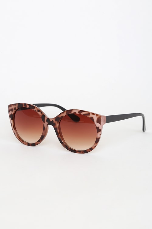 Perfect Sun Light Pink Tortoise Sunglasses